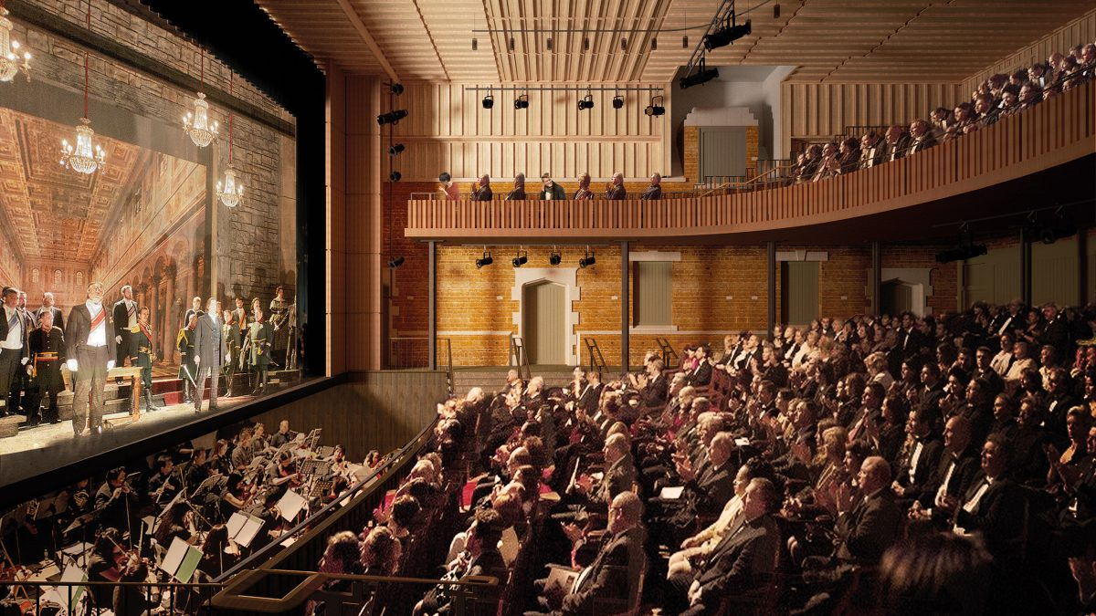 Nevill Holt New Theatre