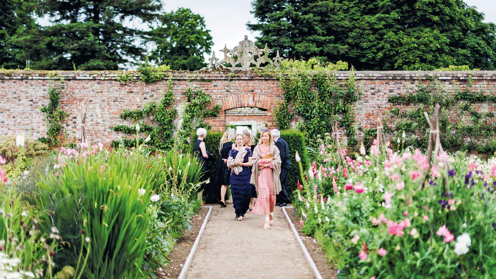 Nevill Holt Gardens